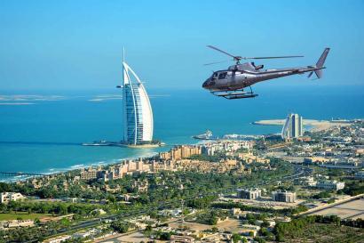 Big helicoptertour Dubai