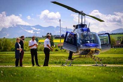 Hubschrauberrundflug Chemnitz