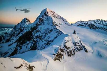 helicopter jungfraujoch