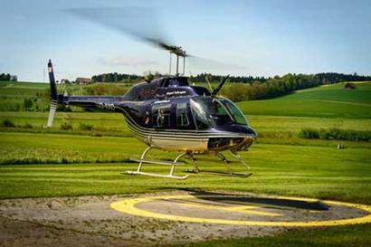 Hubschrauberflug Mainz