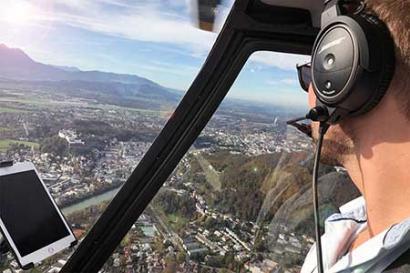 Salzburg Hubschrauberrundflug