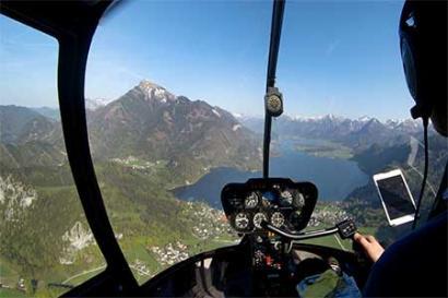 Wolfgangsee Hubschrauberrundflug