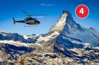 Matterhorn und Jungfraujoch Route