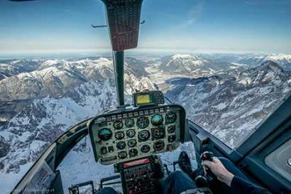 Alpenrundflug Allgäu