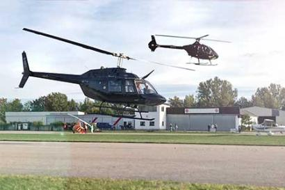 Hubschrauber selber fliegen Trier