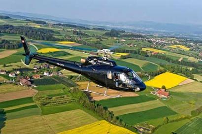 Hubschrauberflug Ulm