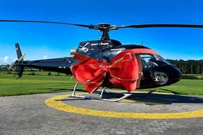 Aktion Hubschrauberrundflug Linzt