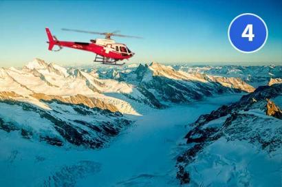 Jungfrau Gletscher Gsteigwiler