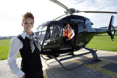 Taxi Hubschrauberflug