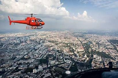 Helicopter tour Berlin