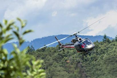 Helikopterflug Trento