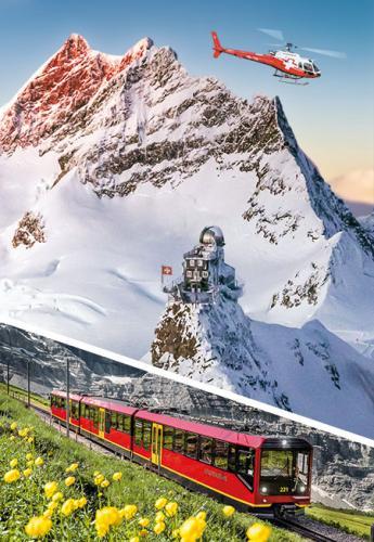 Jungfraujoch from Lucerne