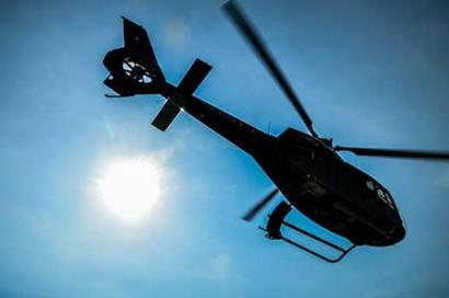 Helikopterflug Bremen