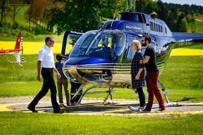 Hubschrauber selber fliegen Höxter