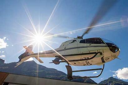 Helikopterflug Atterheide
