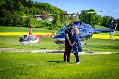 Hubschrauberrundflug Atterheide
