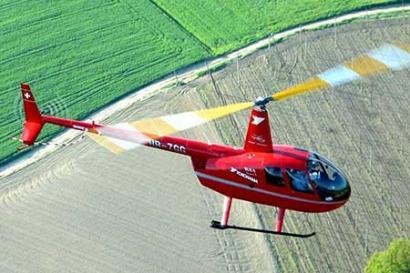 Helikopter Robinson Suhl