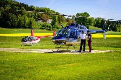 Helikopterflug Gießen