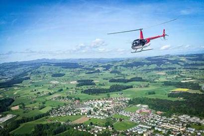 Hubschrauberrundflug Fulda