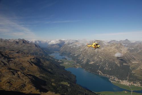 Helikopter Samedan