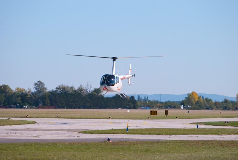 Hubschrauberflug Bad-Vöslau Wien