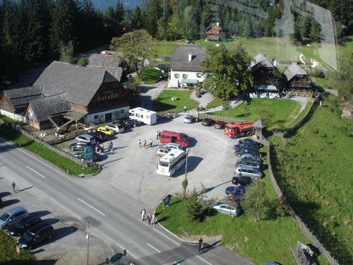 Hubschrauberflug Steirereck am Pogusch