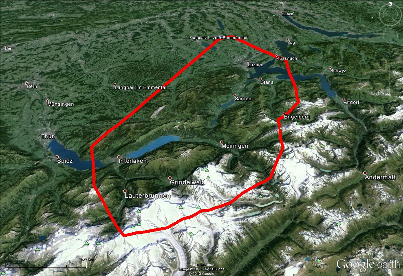 Route Jungfraujoch Plus