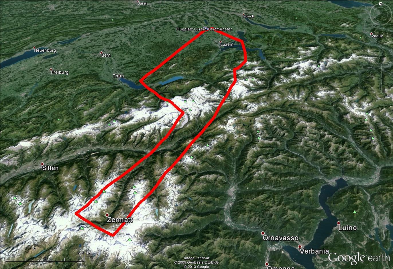 Route Matterhorn