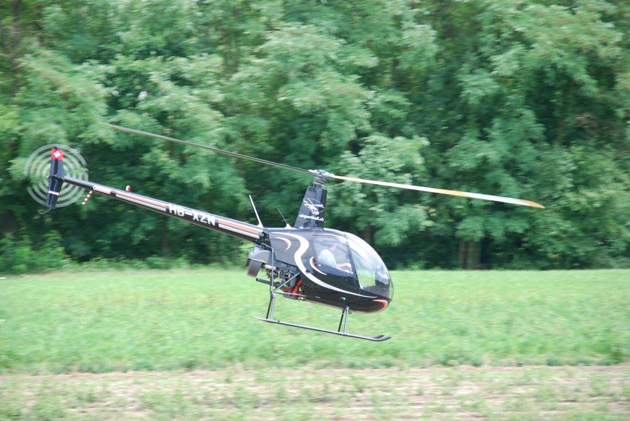 Hubschrauber selber fliegen R22