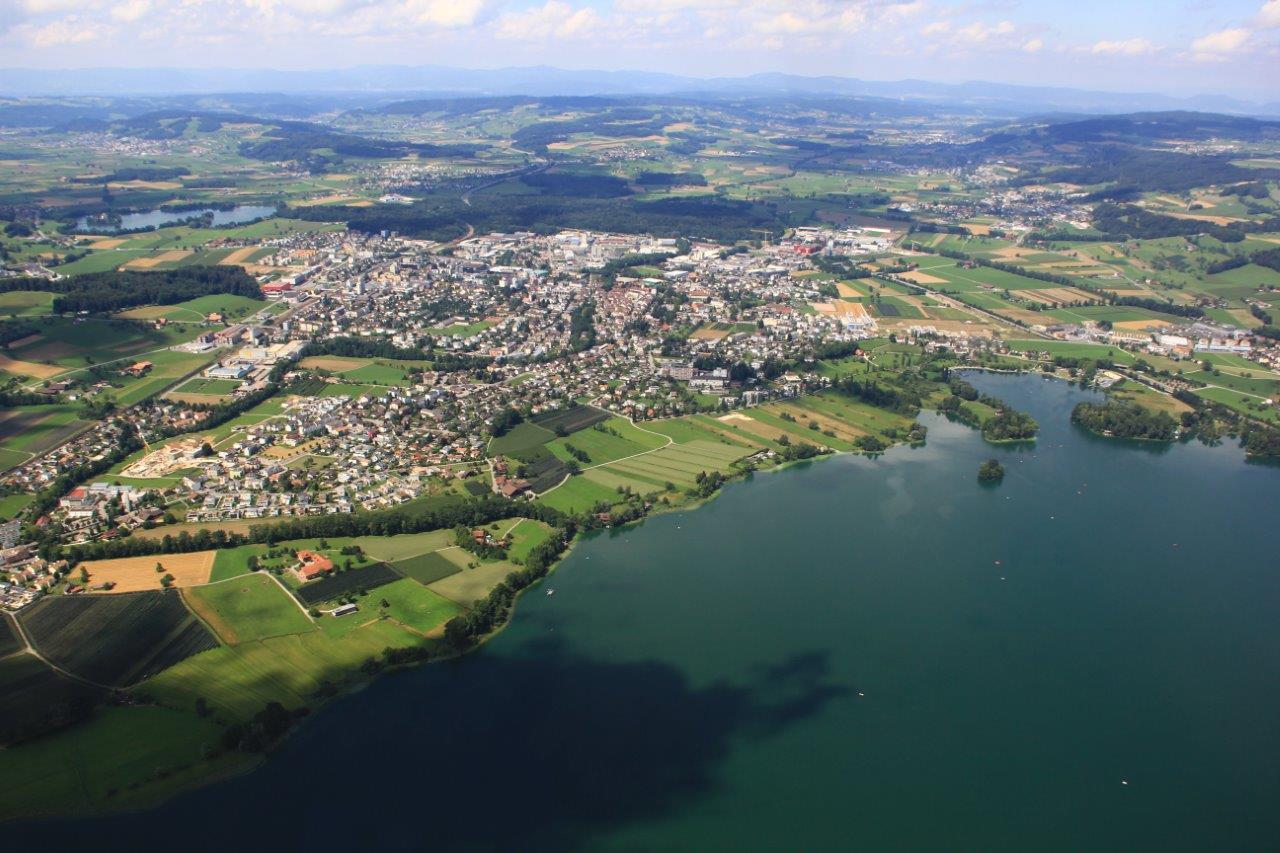 Landschaft Überflug