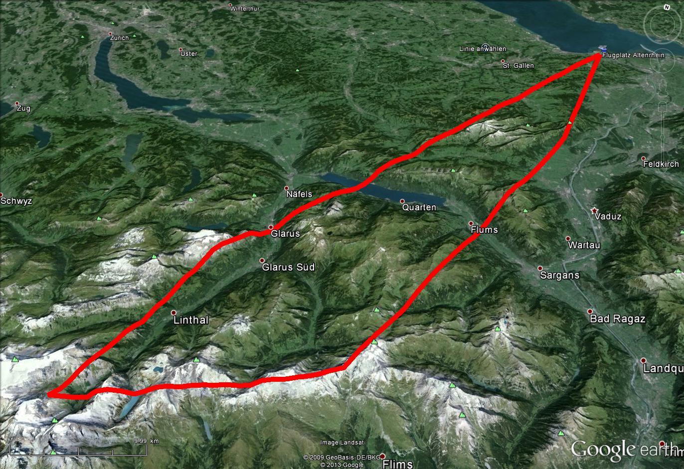 Churfirsten Route 60 Min.