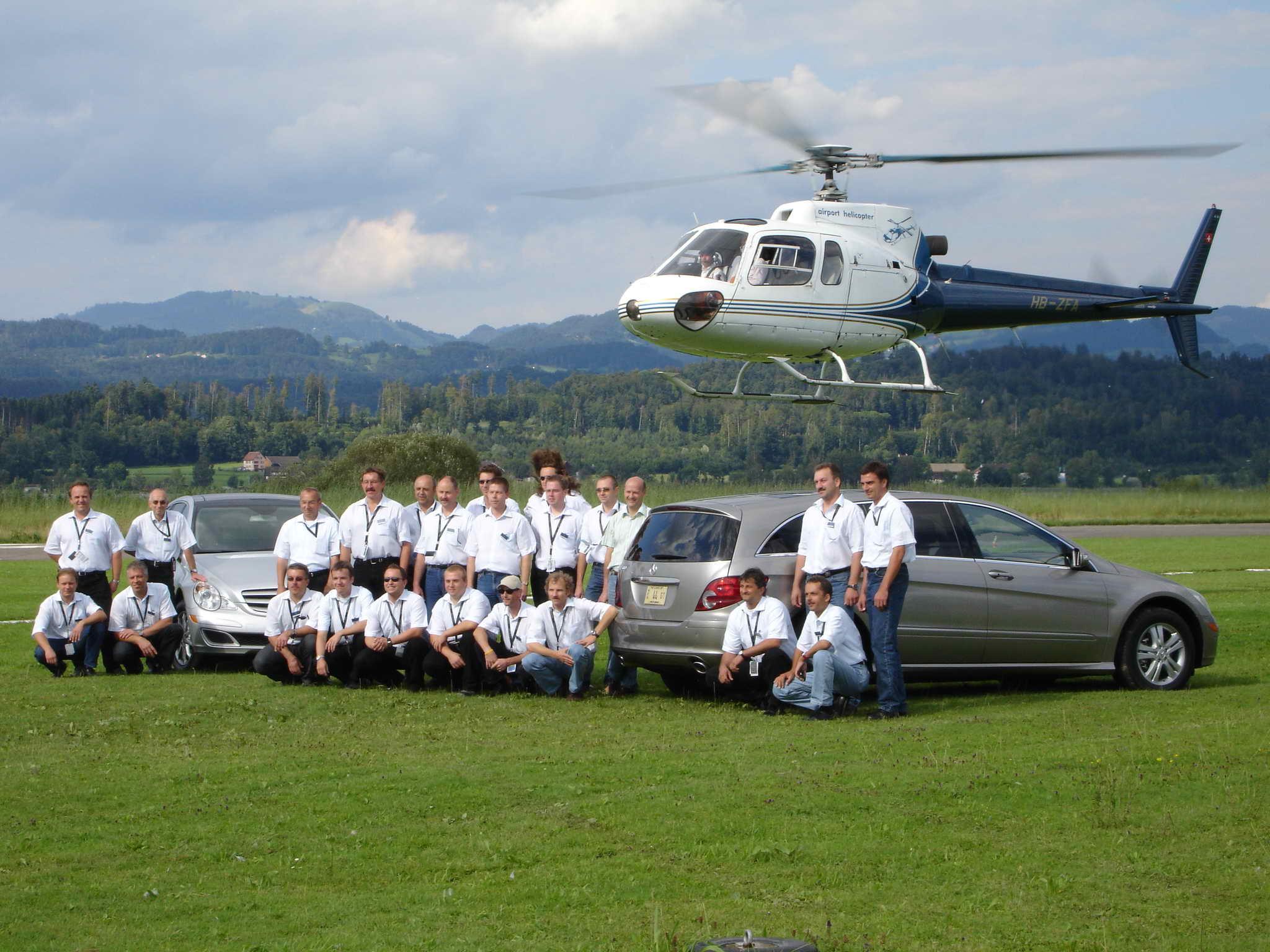Geschäftsflug / Firmenevent Beromünster Luzern