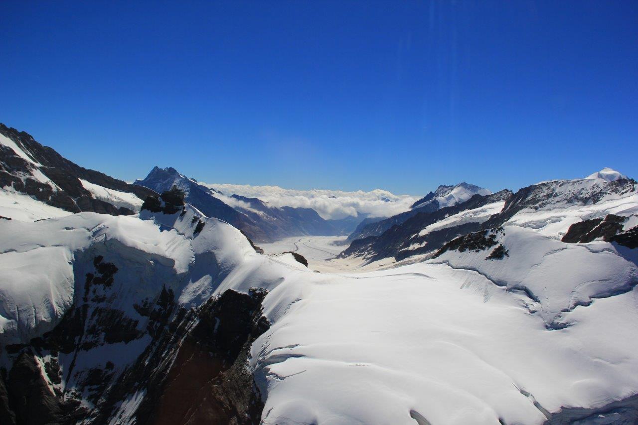 Jungfraujoch und Aletschgletscher