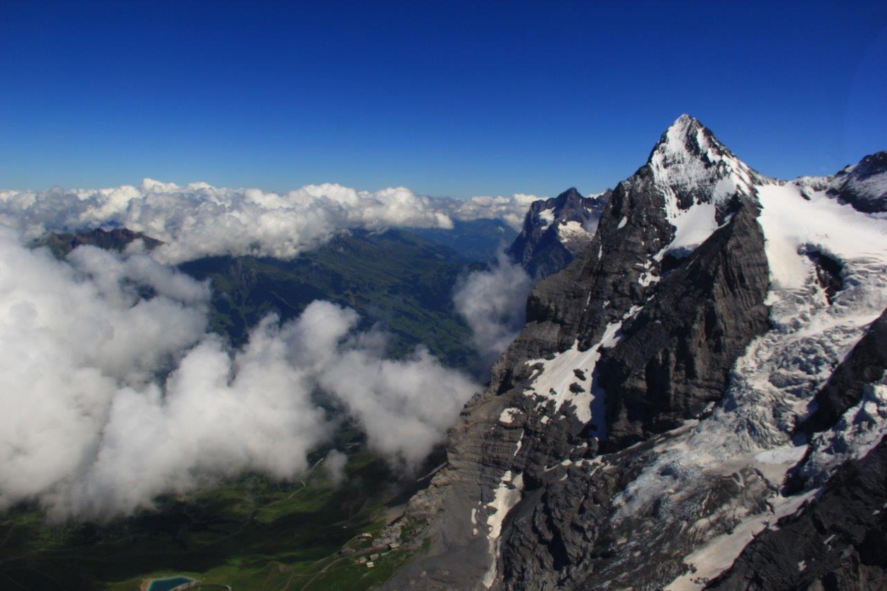 Gletscherflug Lauterbrunnen