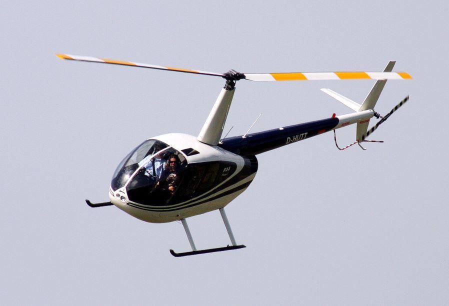 Hubschrauberflug Rostock