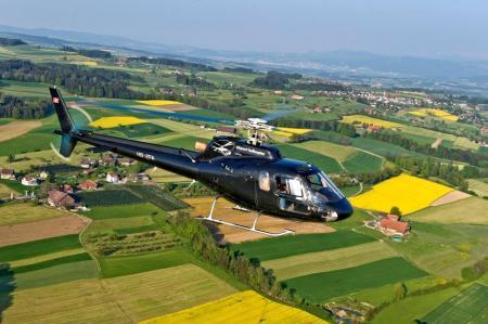 Hubschrauberflug Würzburg