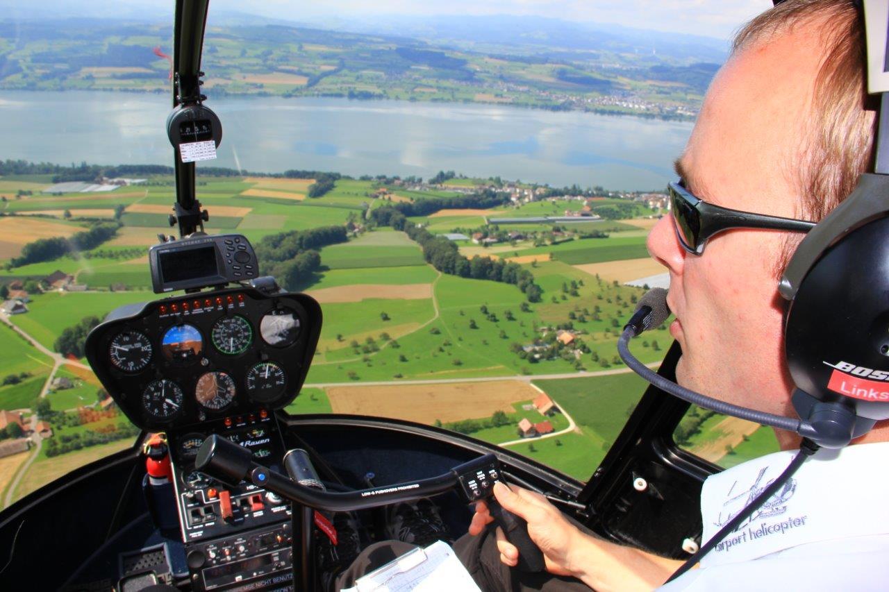 Hubschrauberflug selber fliegen