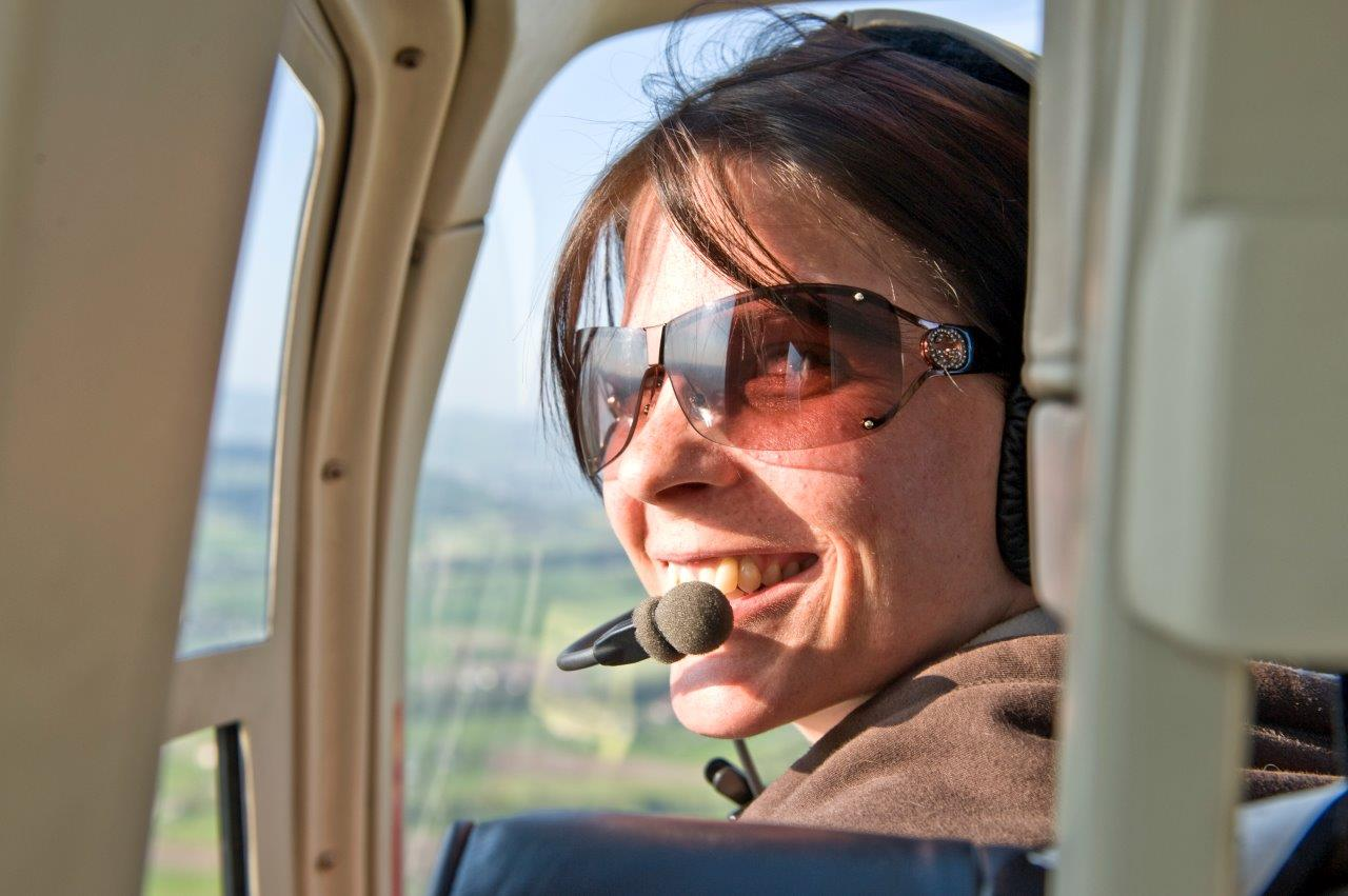 Hubschrauberflug Bremen