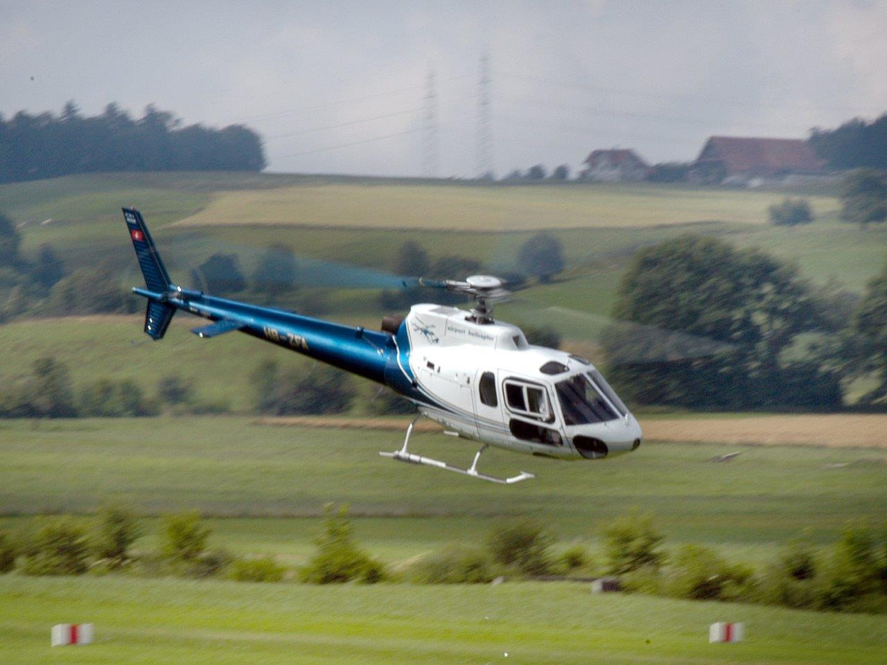 Hubschrauberflug Baden- Baden