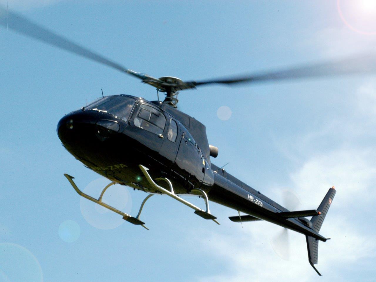 Ecureuil Hubschrauber