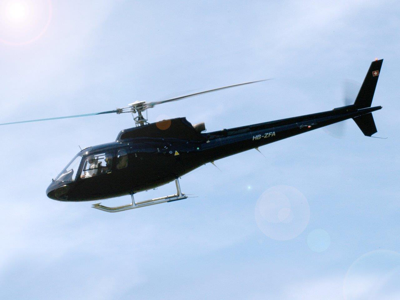 Hubschrauberflug Zell am See