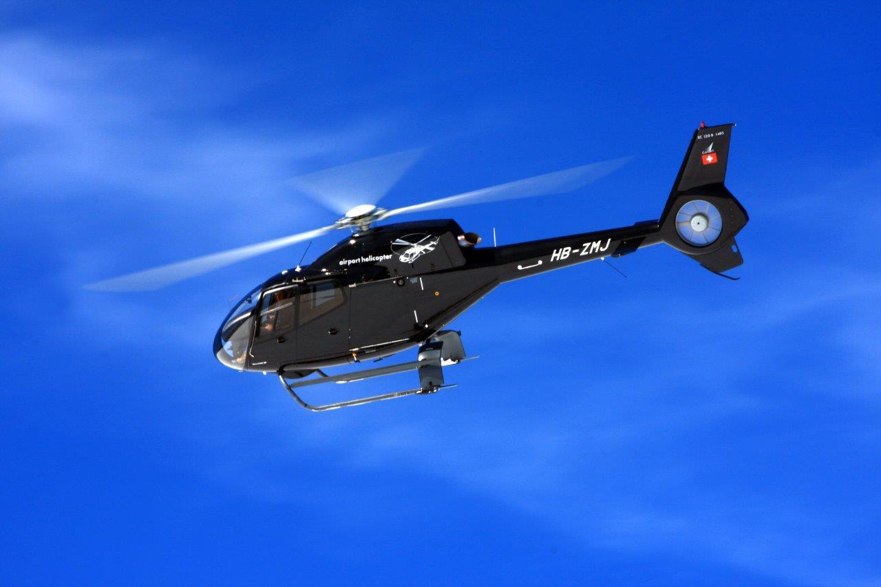 Hubschrauberflug Wels