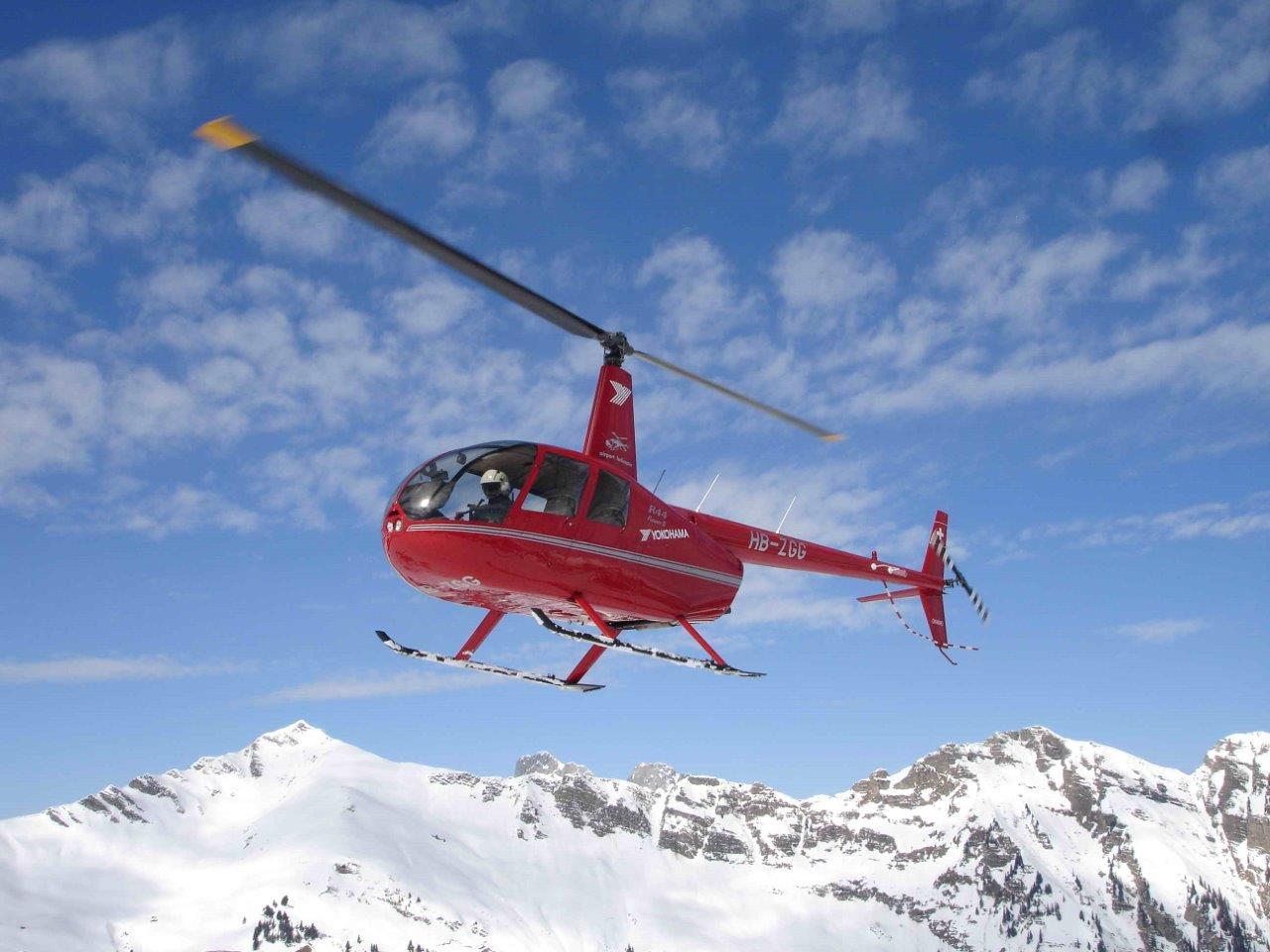 Hubschrauber Rundflug Robinson R44 Kilb Rametzberg