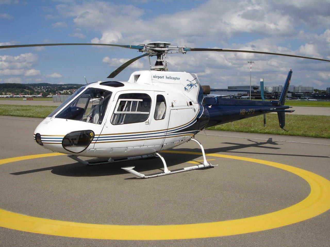 Hubschrauber Heliport Kilb Rametzberg