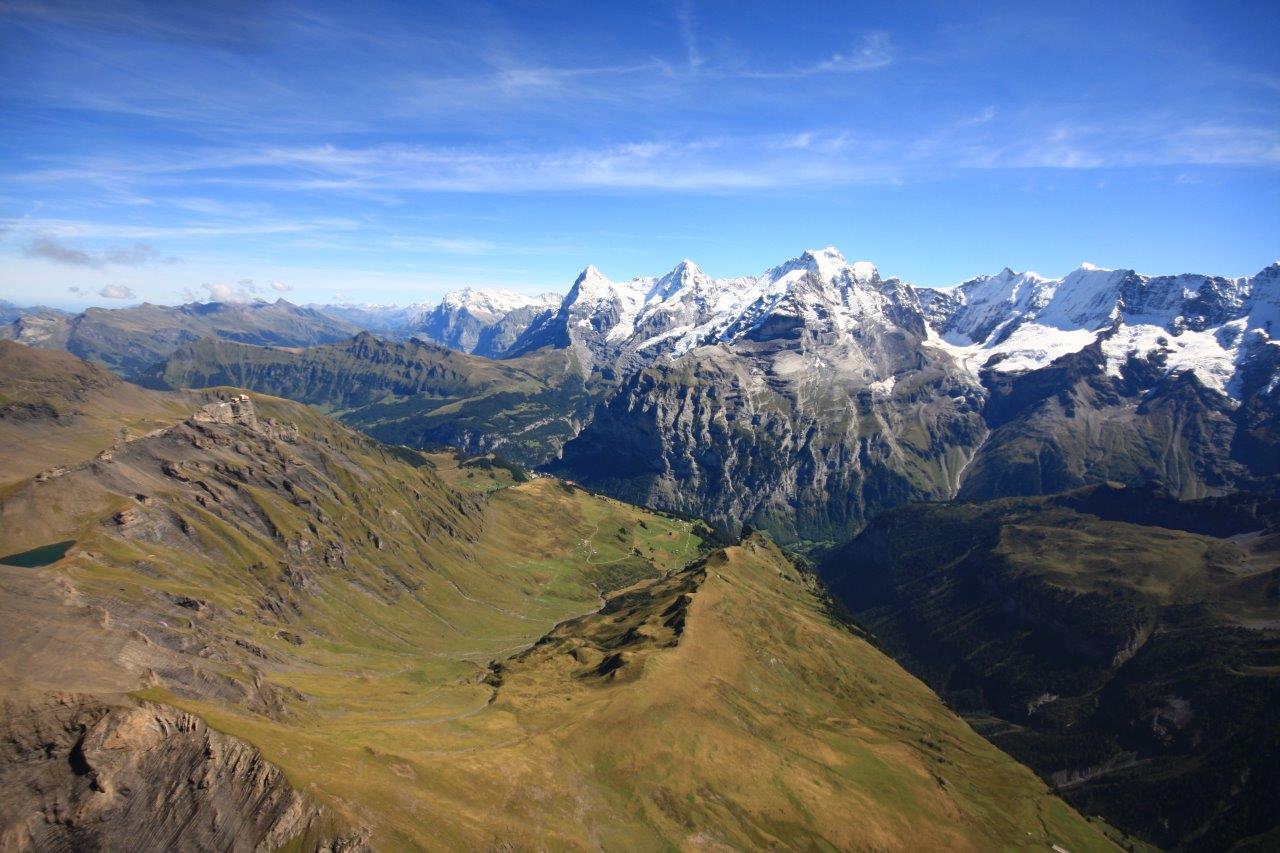 Hubschrauber Rundflug Alpen