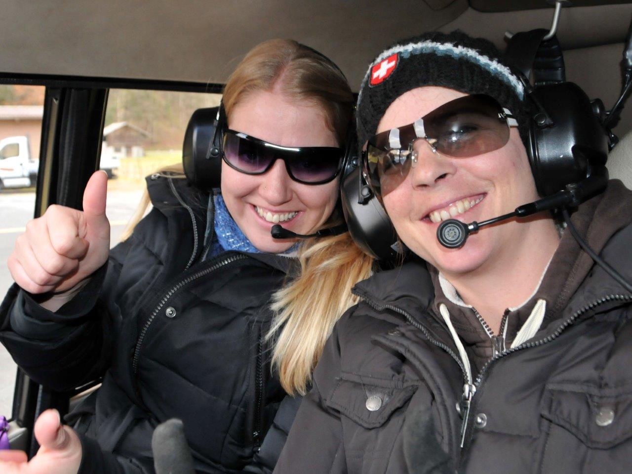 Hubschrauber Rundflug Fluggäste