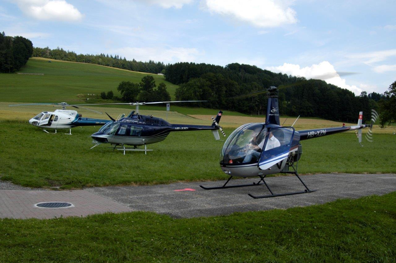 Hubschrauberflug Ludesch