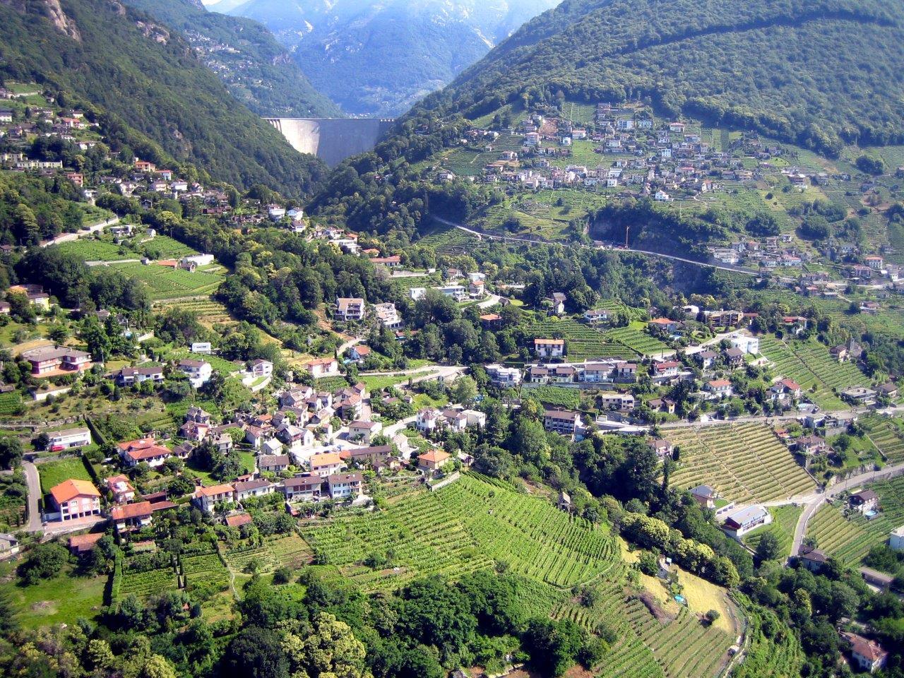 Hubschrauber Rundflug Landschaft