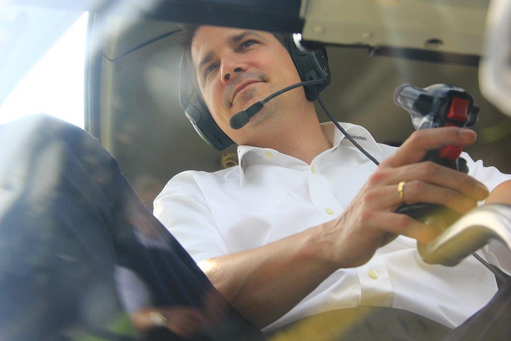 Hubschrauber Rundflug Pilot