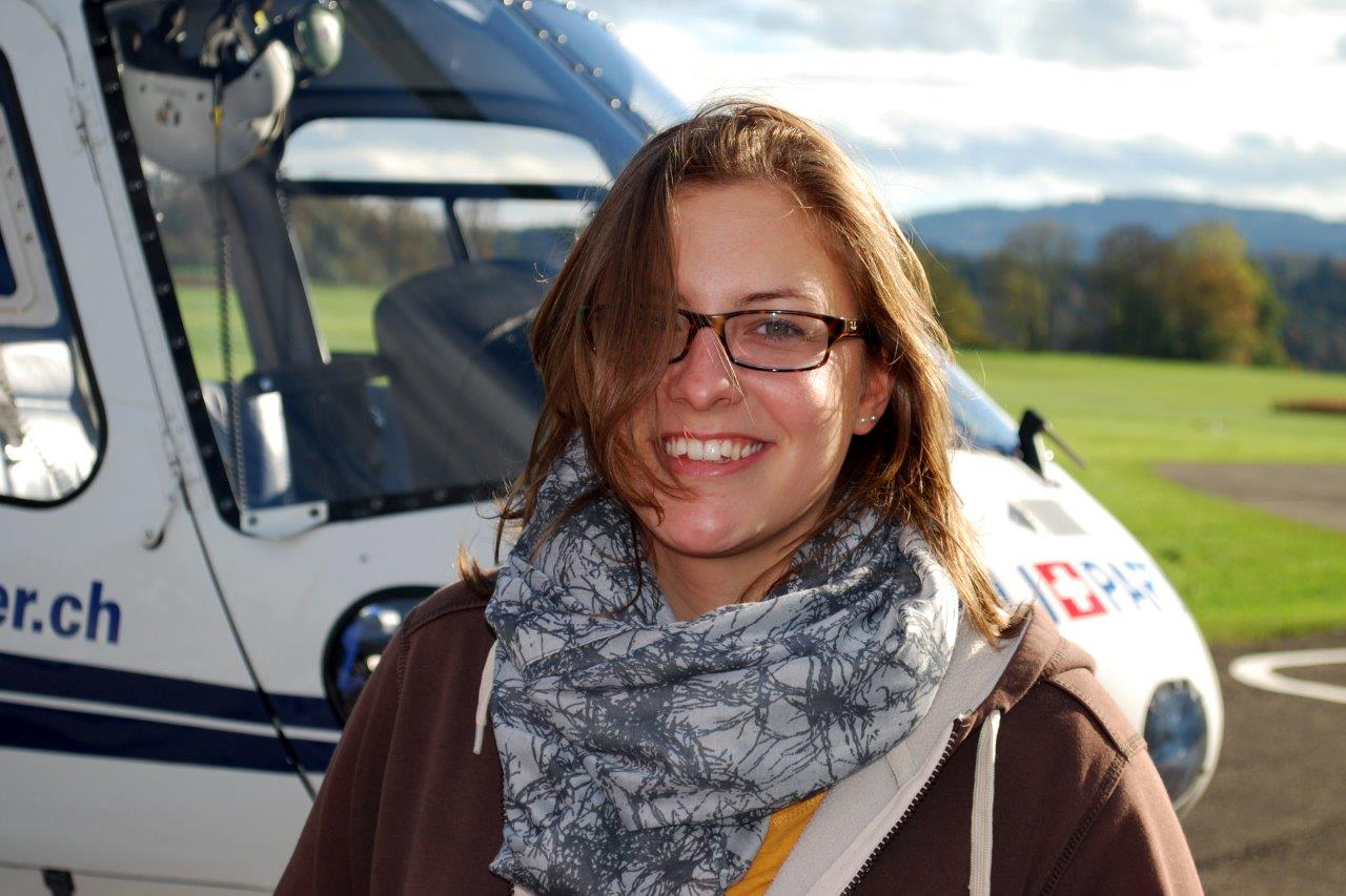 Helikopter Fluggast